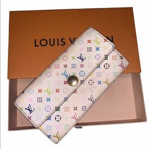 AUTHENTICATED Louis Vuitton Sarah multicolor